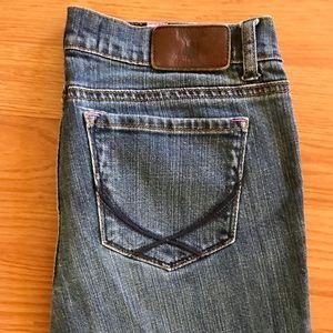 Pink Victoria's Secret Jeans Size 6 Long